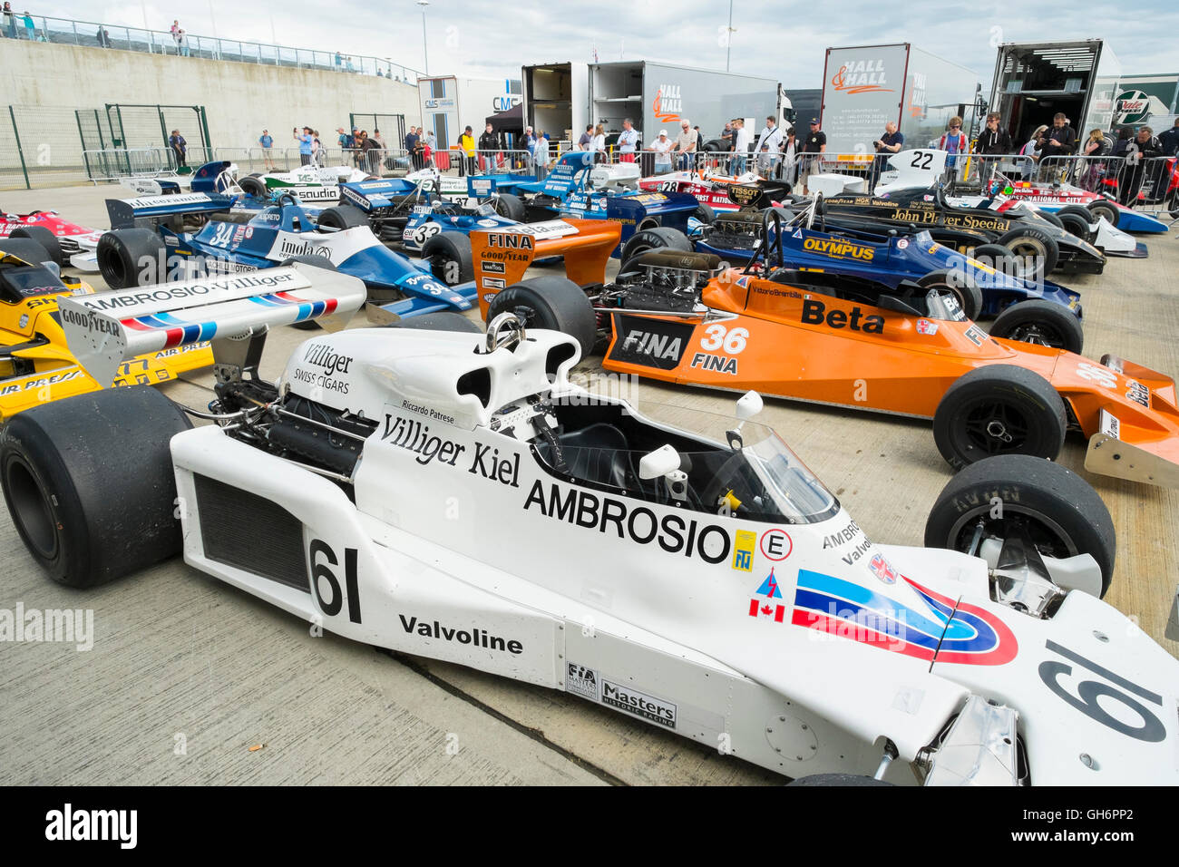 Silverstone F1 Stock Photos & Silverstone F1 Stock Images - Alamy