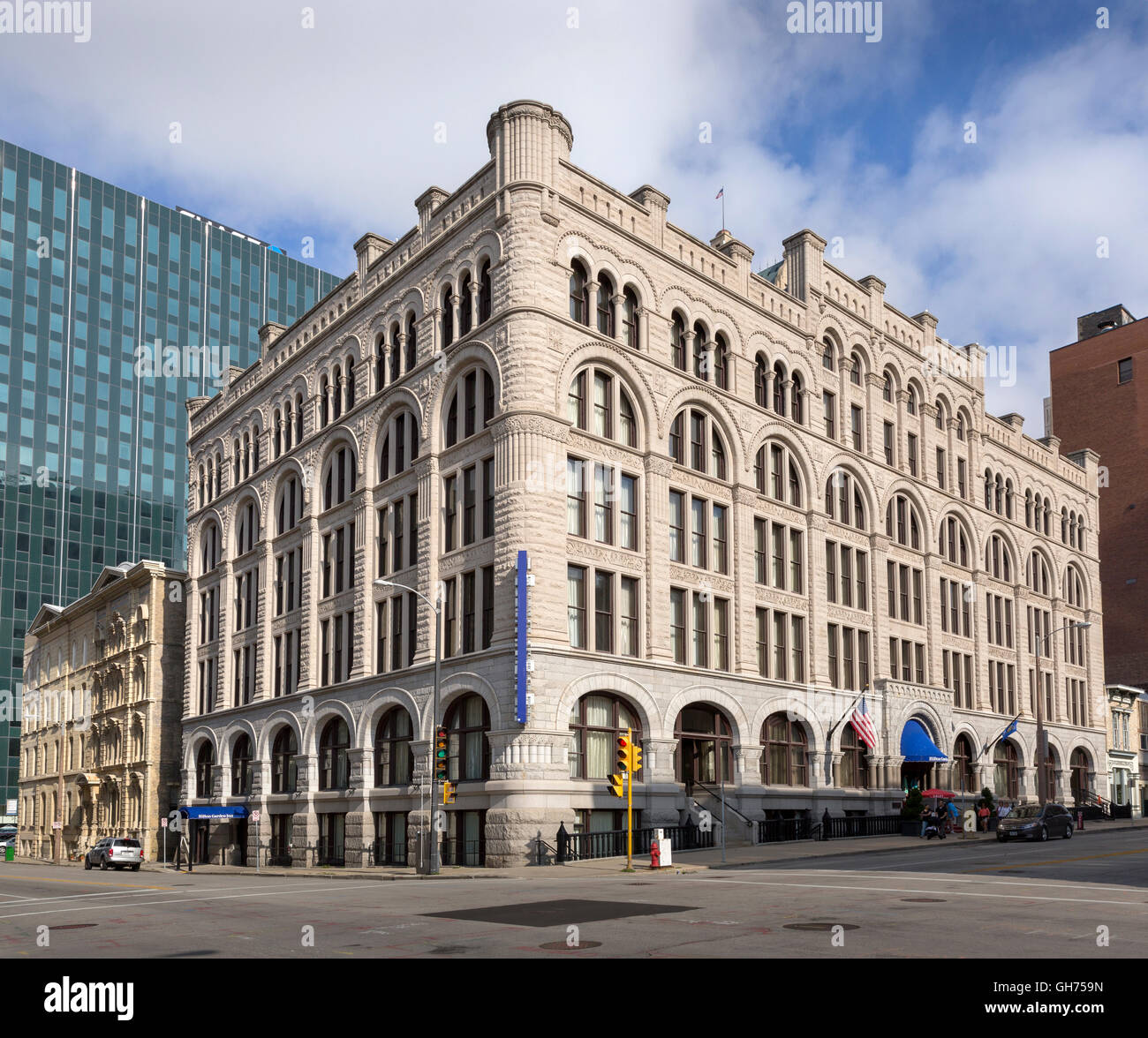 The 1886 Northwestern Mutual Life Insurance Company Home Office in Milwaukee, Wisconsin. - Stock Image