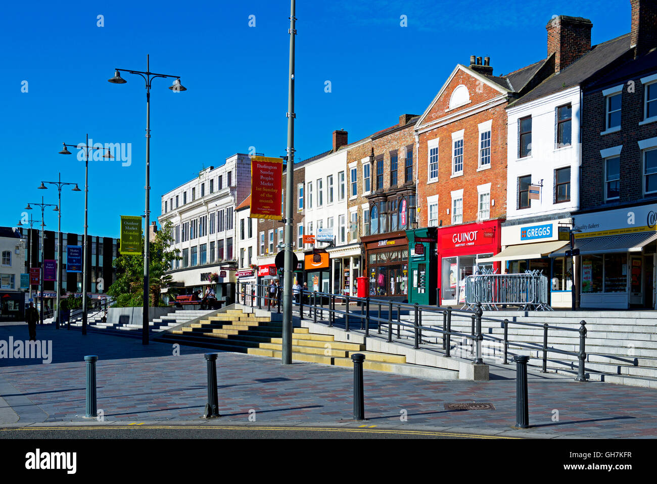 High Row, Darlington, County Durham, England UK - Stock Image