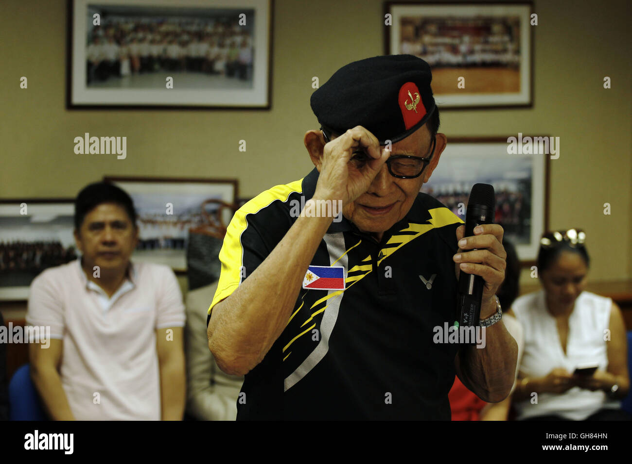 August 9, 2016 - Former president of the Philippines, Fidel