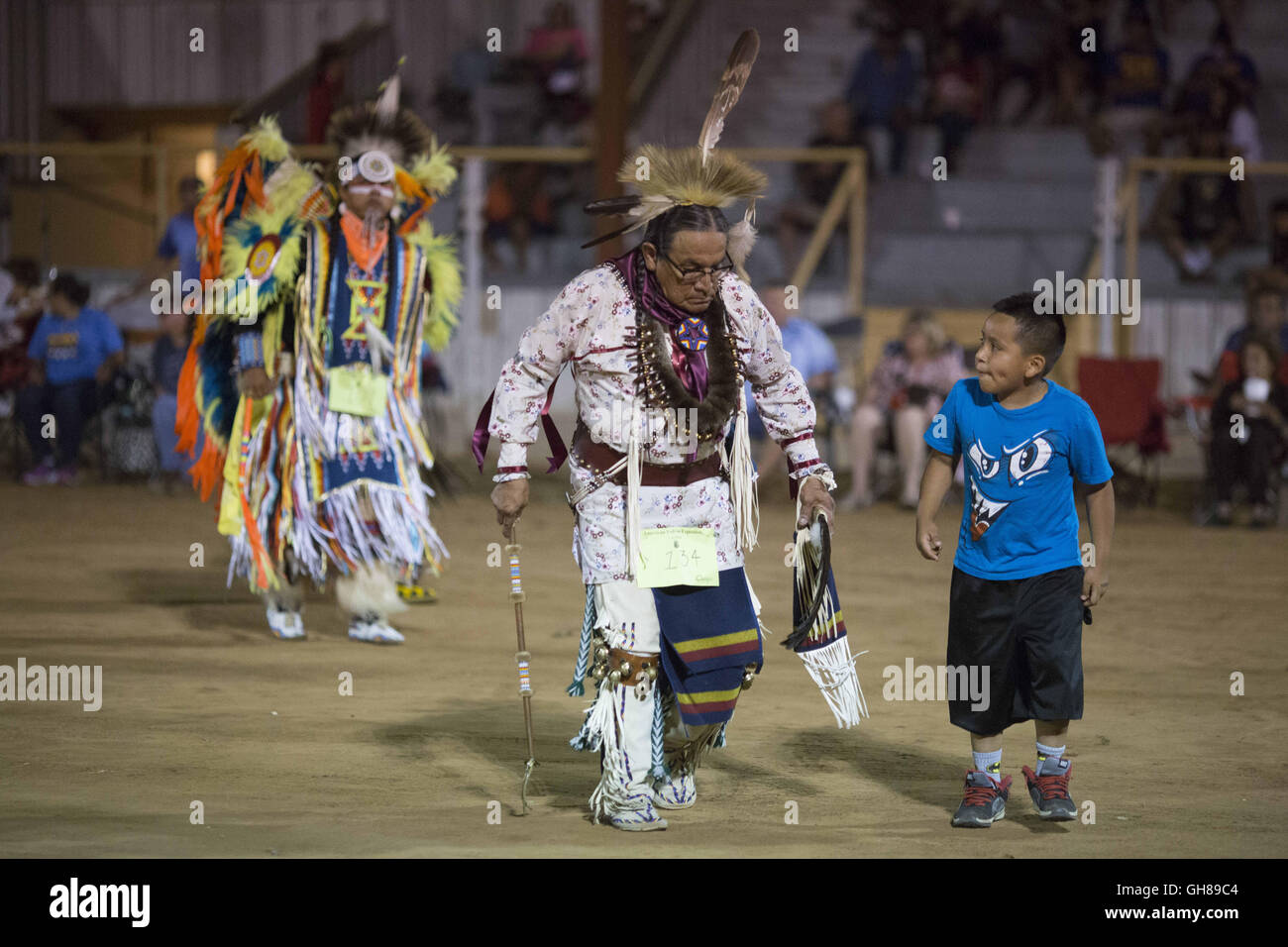 Anadarko, Oklahoma, USA. 8th Nov, 2016. during the annual American Indian Expo in Anadarko, Oklahoma.The annual - Stock Image