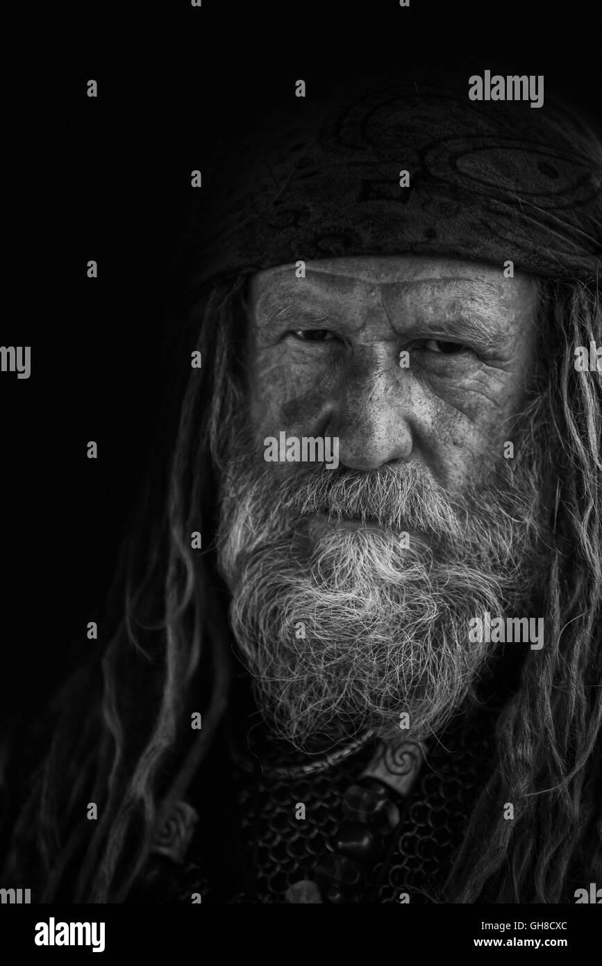 Viking warrior - Stock Image