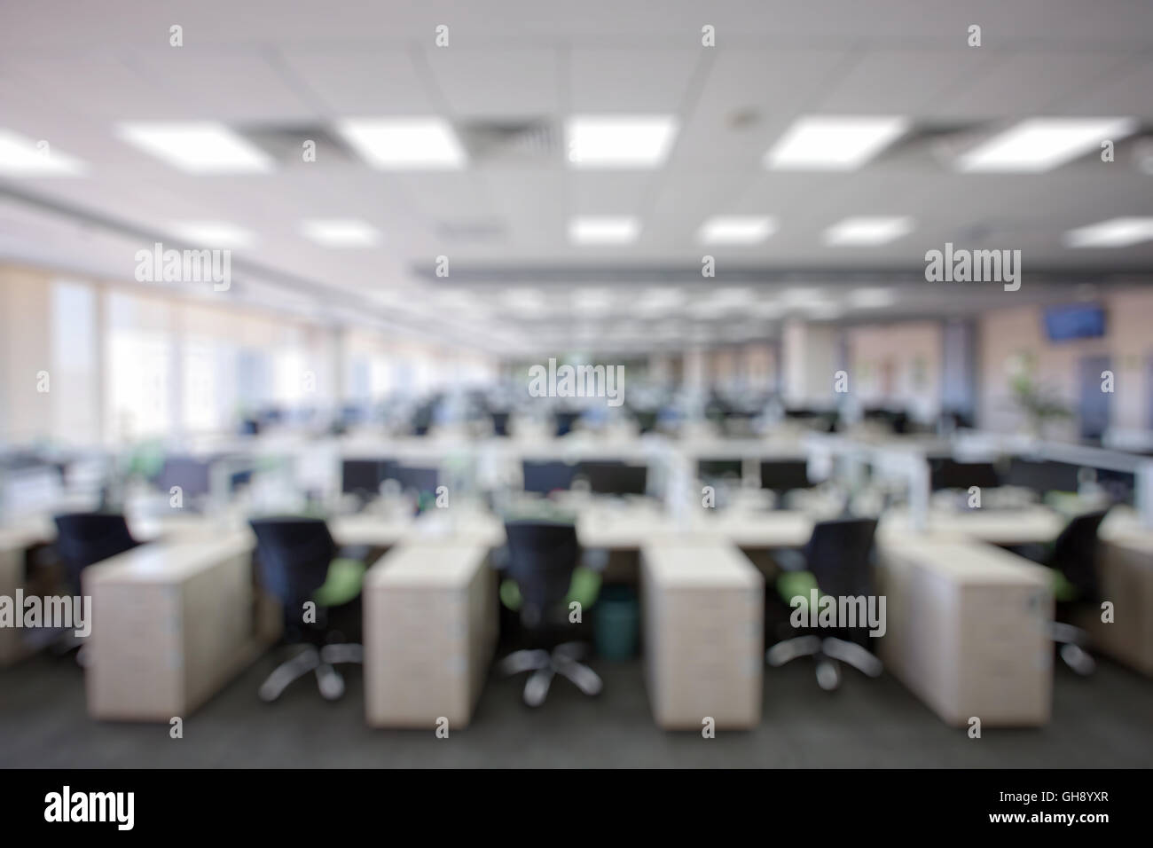office backdrop. Blurry Office Background, Perfect To Use For Backdrop In Advertisements Or Other Designs - Stock A