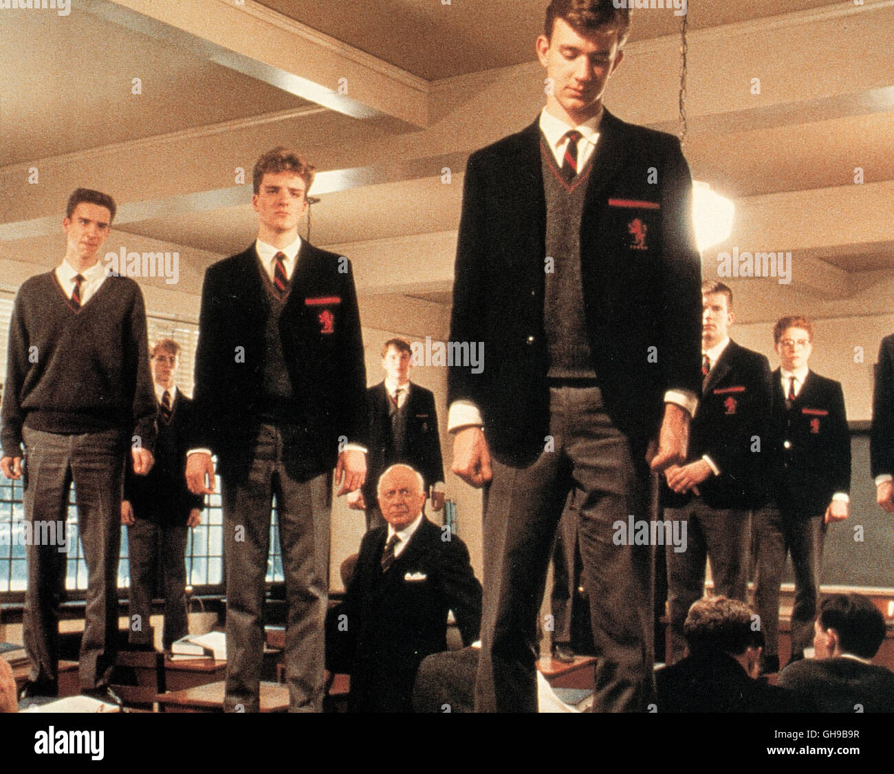 DER CLUB DER TOTEN DICHTER / Dead Poet's Society USA 1988 / Peter Weir Szene mit JAMES WATERSTON, ALLELON RUGGIERO, - Stock Image
