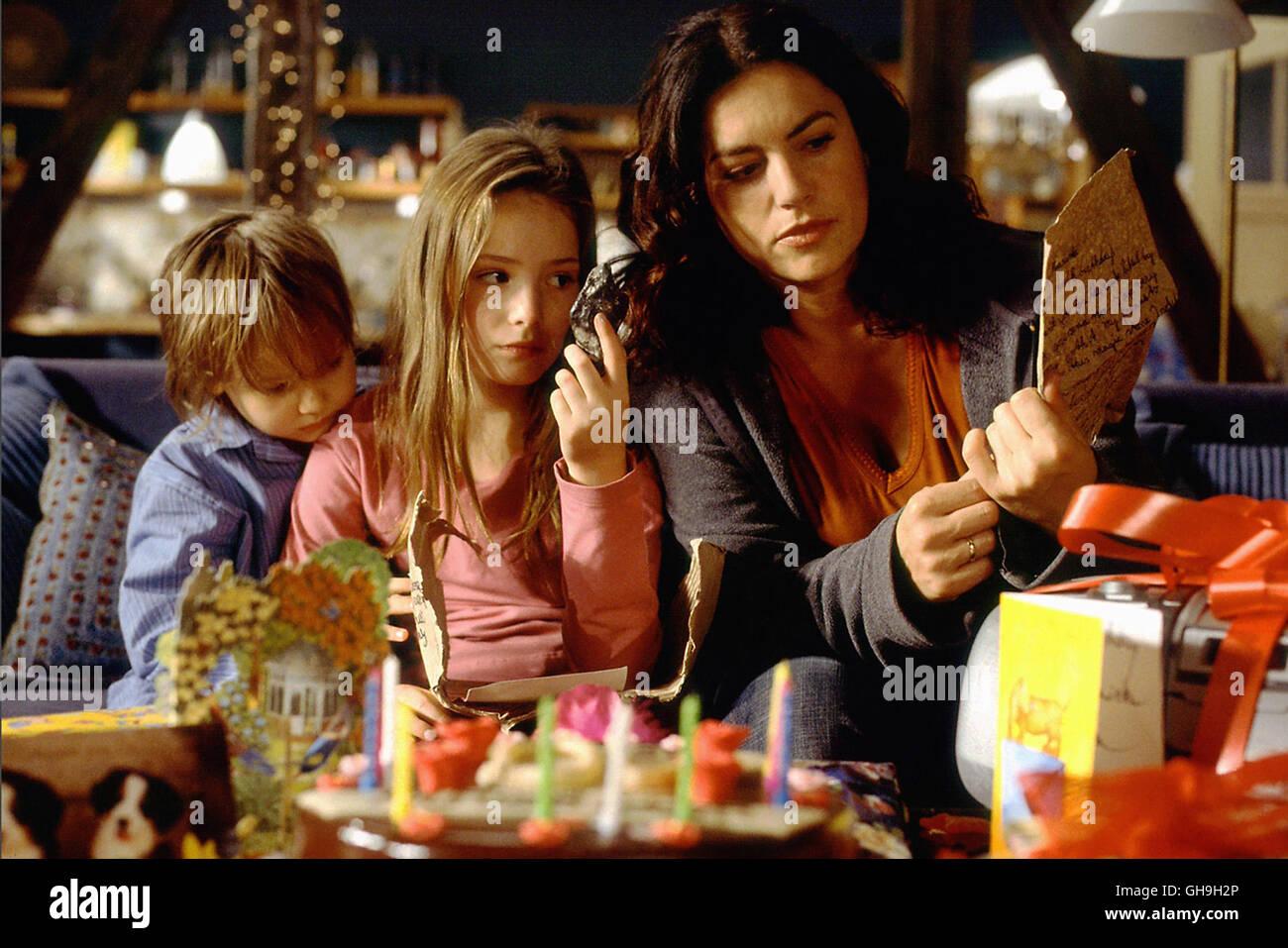 Tobias (HANS-LAURIN BEYERLING), Marietta (MARIA EHLICH), Mutter Maria (CHRISTINE NEUBAUER) Film, Fernsehen, Kino, - Stock Image