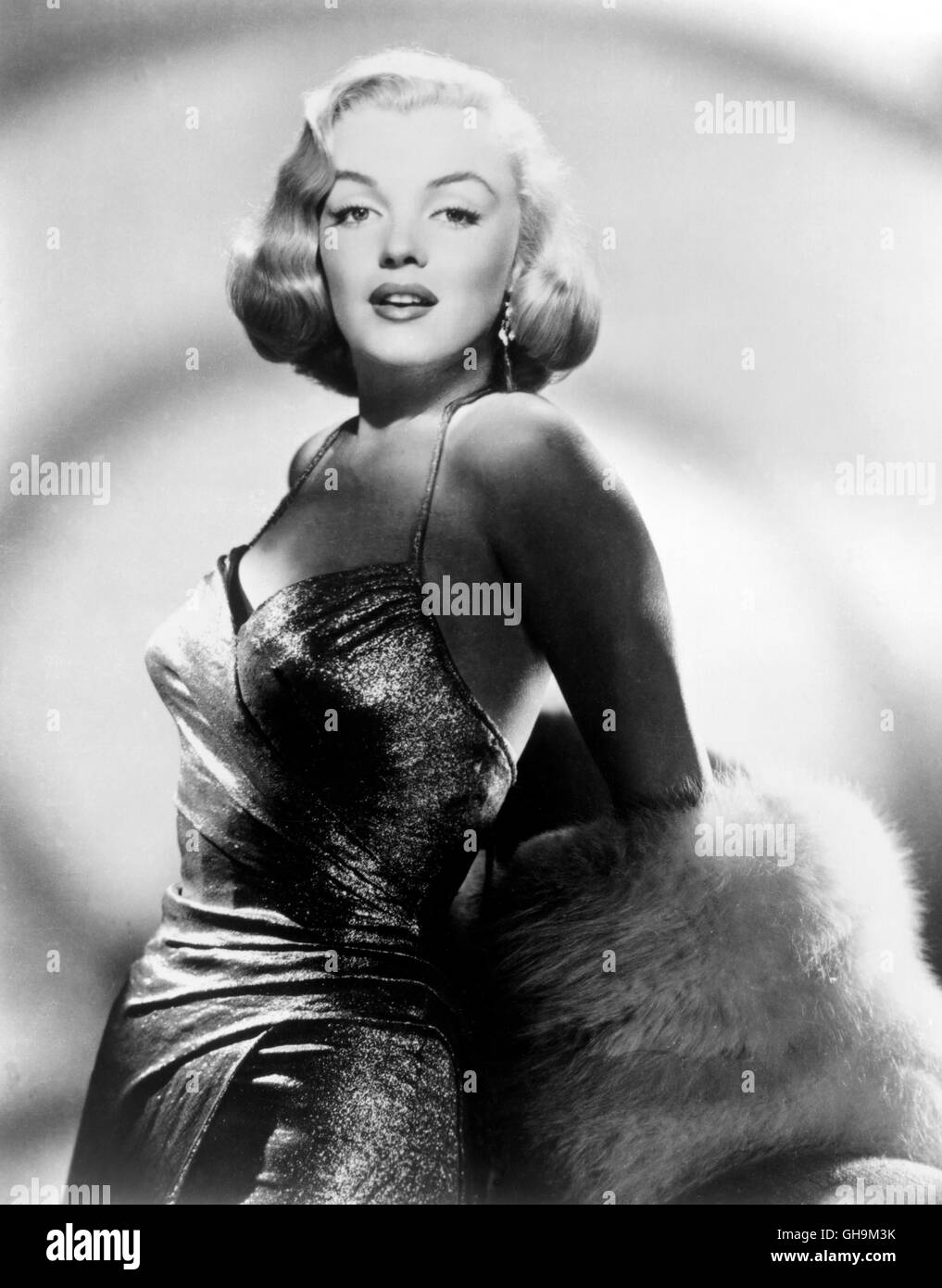 MARILYN MONROE, Portrait um 1950. - Stock Image