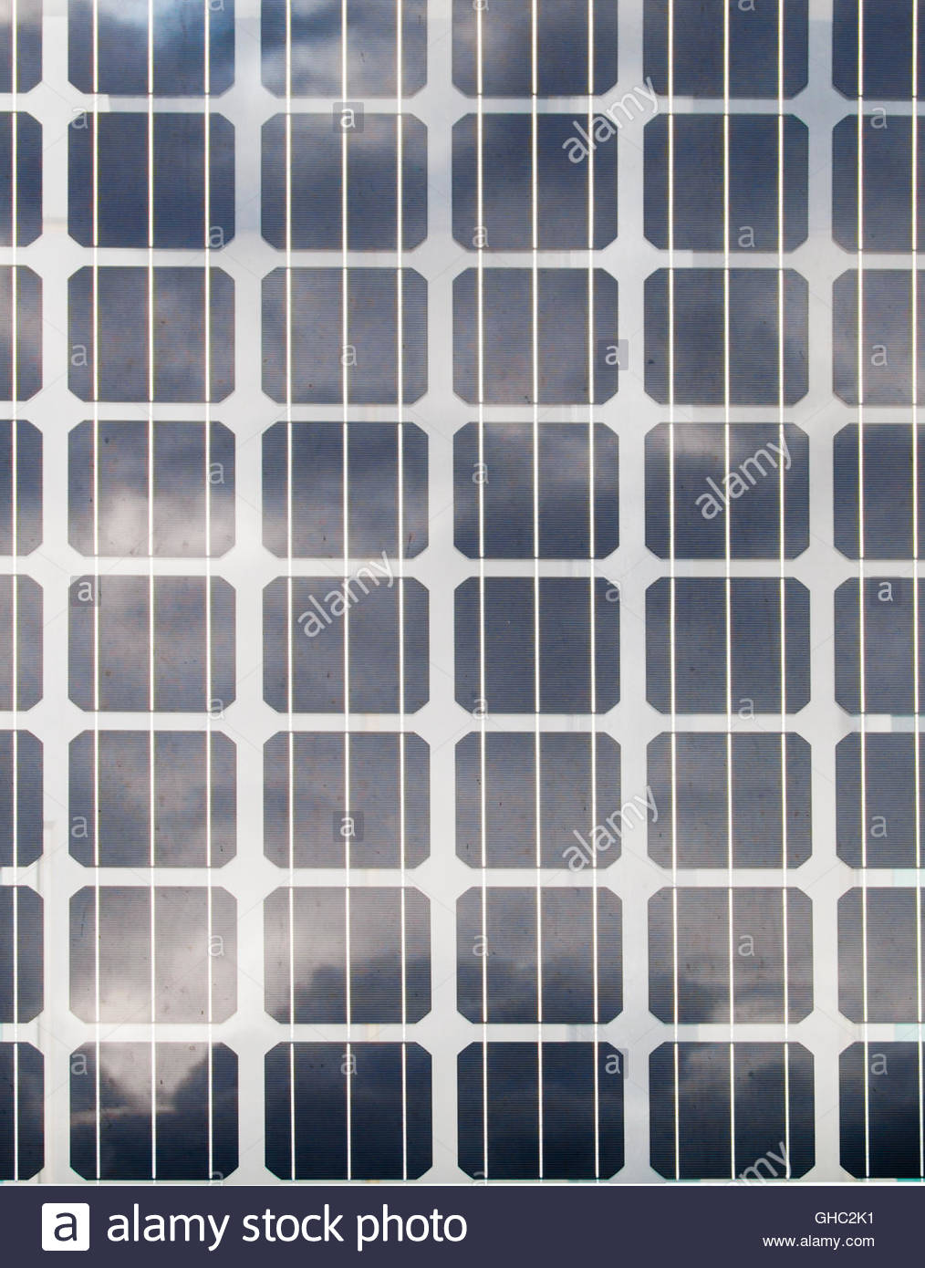 Solar panel background - Stock Image