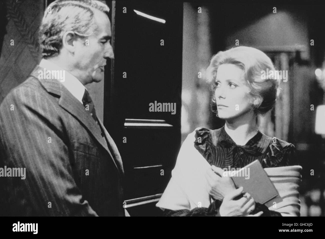 Anima Persa 1977 catherine deneuve black and white stock photos & images
