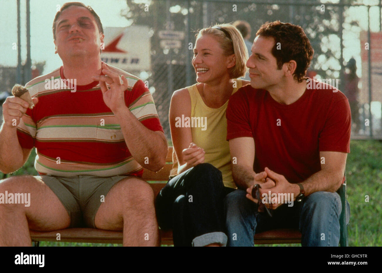 VERRÜCKT NACH MARY There's something about Mary USA 1998 Bobby and Peter Farrelly Dom (CHRIS ELLIOTT), - Stock Image