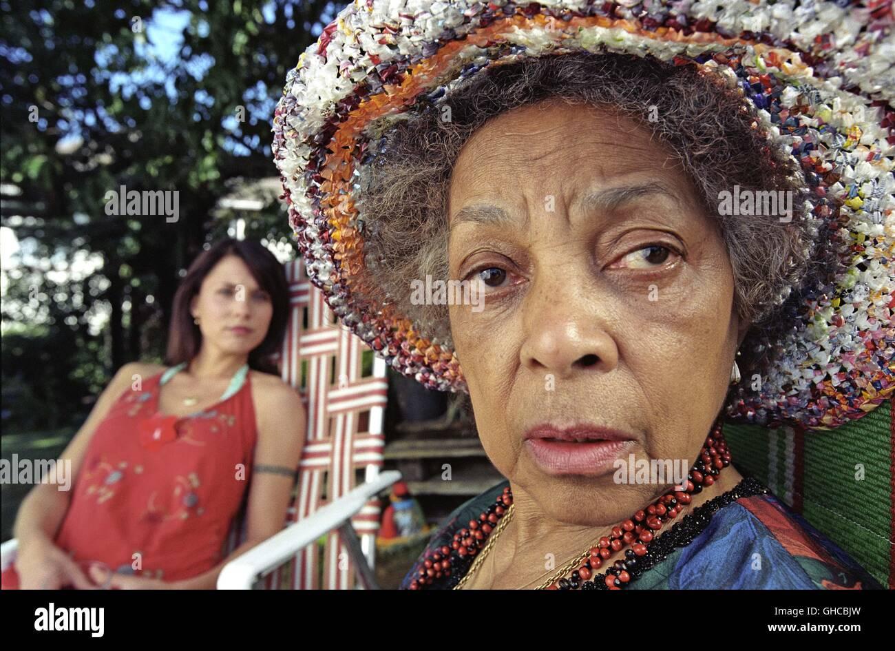 NO. 2 New Zealand 2005 Toa Fraser Danish Maria (TUVA NOVOTNY) and Nanna Maria (RUBY DEE) Regie: Toa Fraser - Stock Image