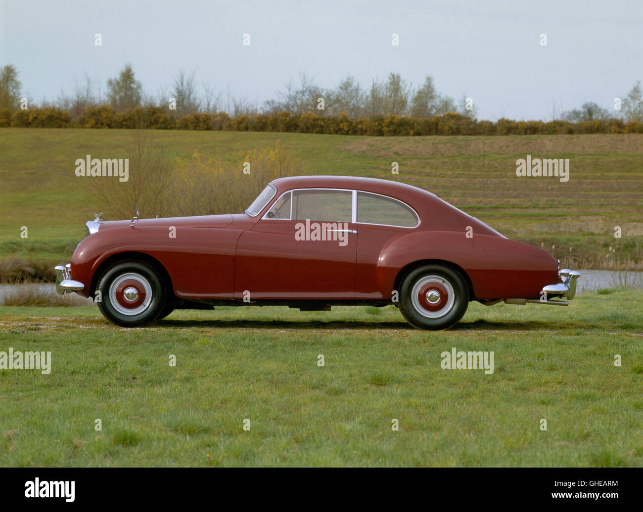 1955 Bentley R Type Continental Fastback. - Stock Image