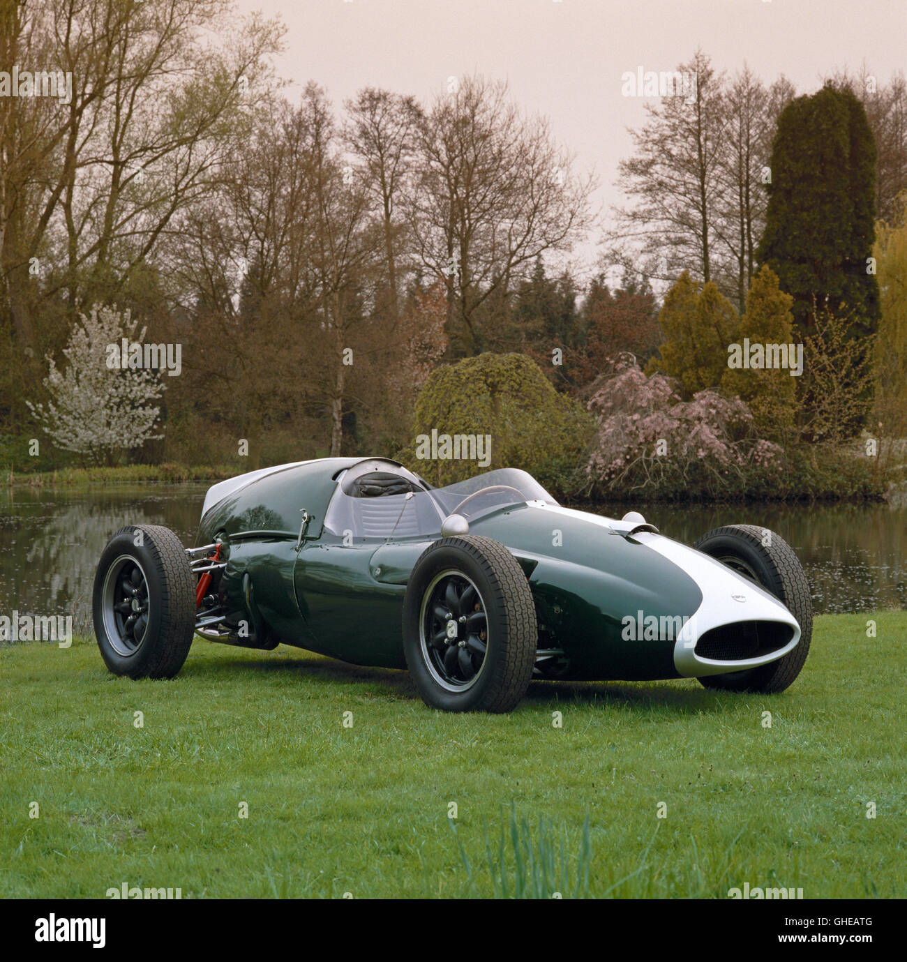 1959 Cooper Climax T51 2 5 litre 240 bhp single seat F1 racing car Country of origin United Kingdom - Stock Image