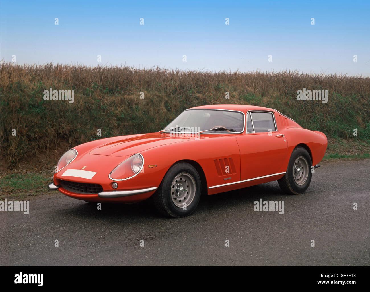 1967 Ferrari 275 GTB 4 Berlinetta 3.0 litre V12 Country of origin Italy - Stock Image