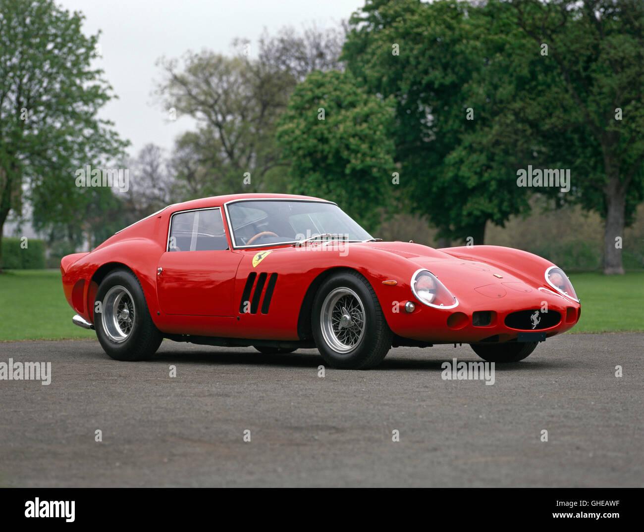 1962 Ferrari 250 GTO scaglietti berlinetta 3 0 litre tipo 168 62 V12 SOHC engine producing 302bhp Country of origin - Stock Image