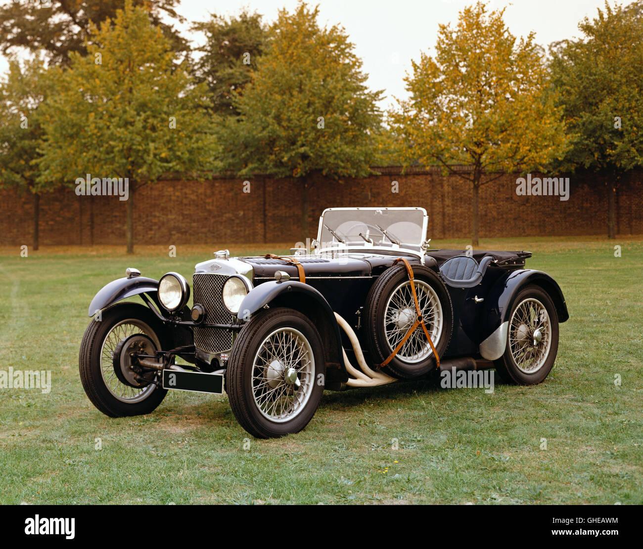 1932 Frazer Nash TT Replica 1 5 litre sports 2 seater Country of origin United Kingdom - Stock Image