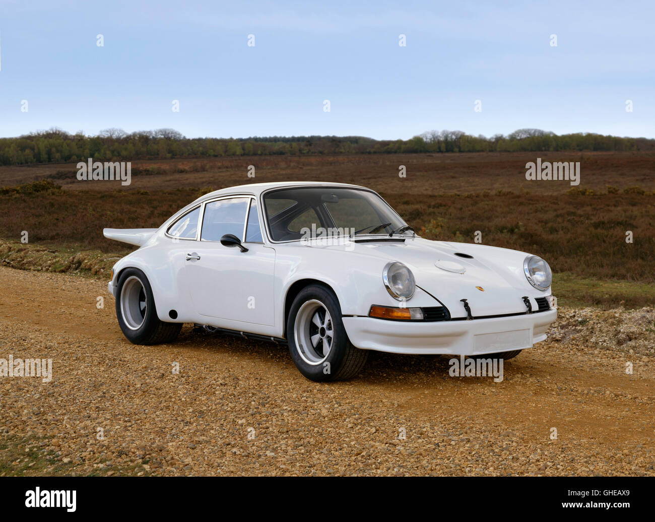 1973 Kremer Porsche RS/RSR 2.8 litre competition coupe. Country of origin Germany. - Stock Image