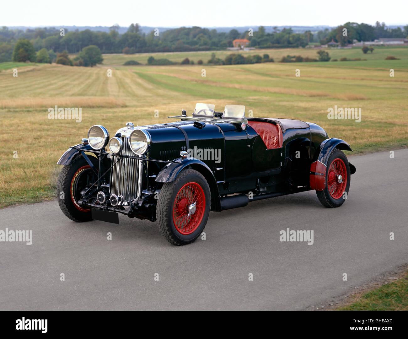 1934 35 Lagonda LG45R 4 5 litre team car Country of origin United Kingdom - Stock Image