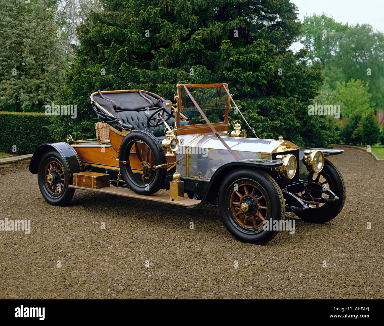 1911 Rolls Royce 40 50 HP Silver Ghost 2 seat roadster Country of origin United Kingdom - Stock Image