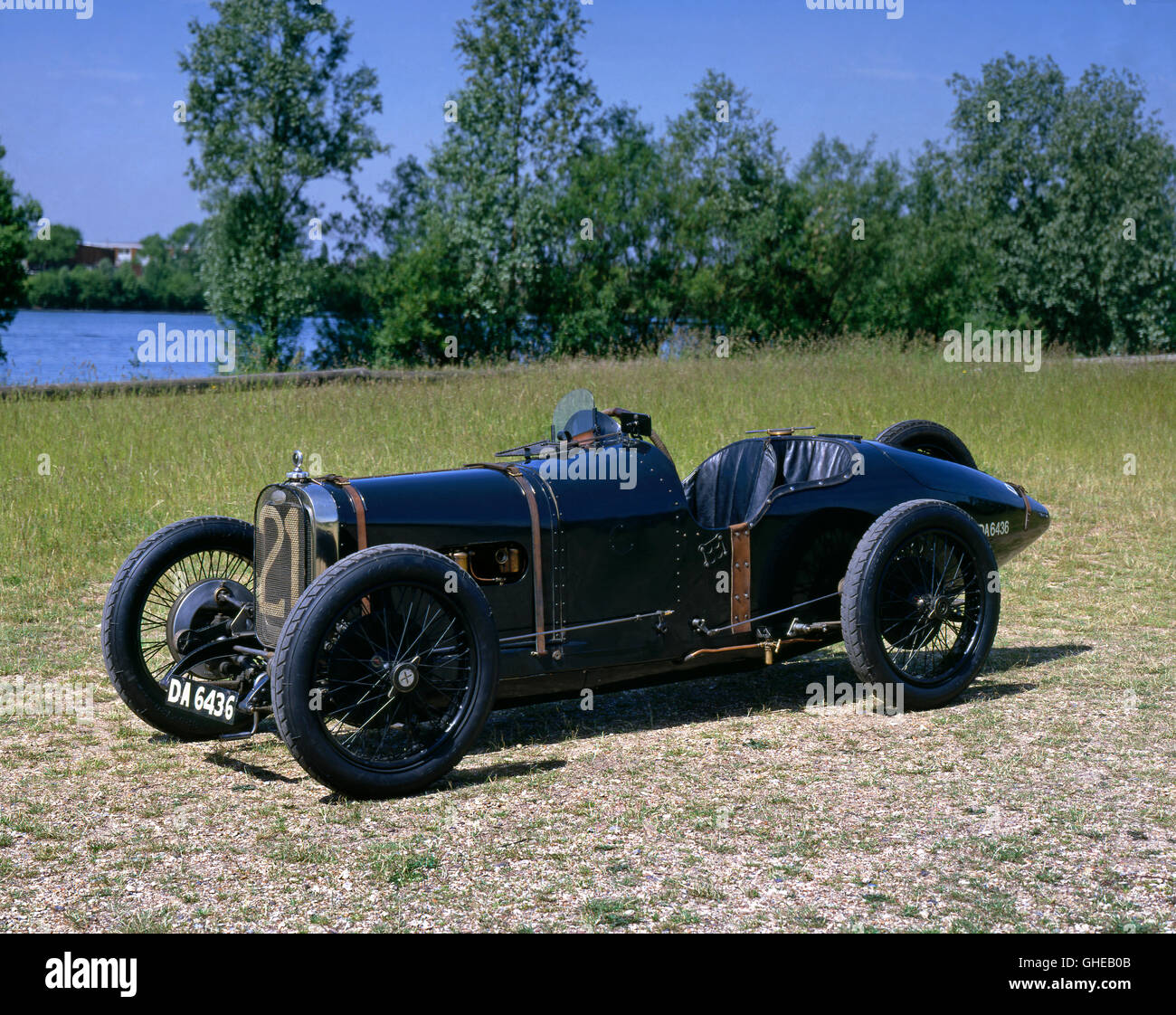 1922 Sunbeam Strasbourg 2.0 litre GP car - Stock Image