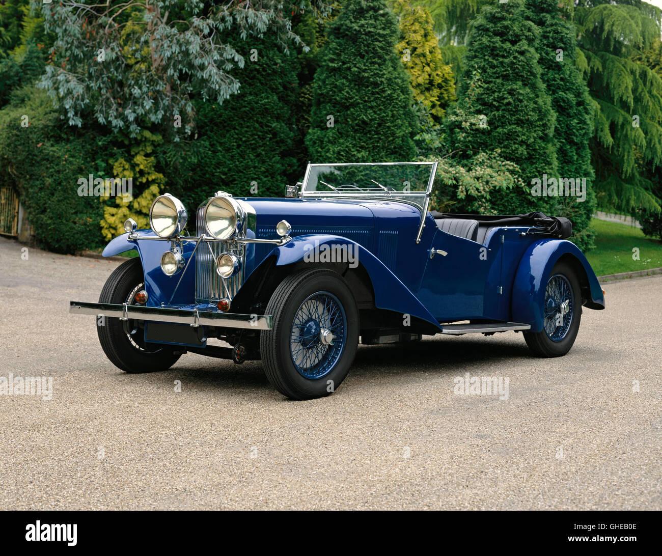 1934 Talbot 105 Vanden Plas tourer 3 0 litre Country of origin United Kingdom - Stock Image