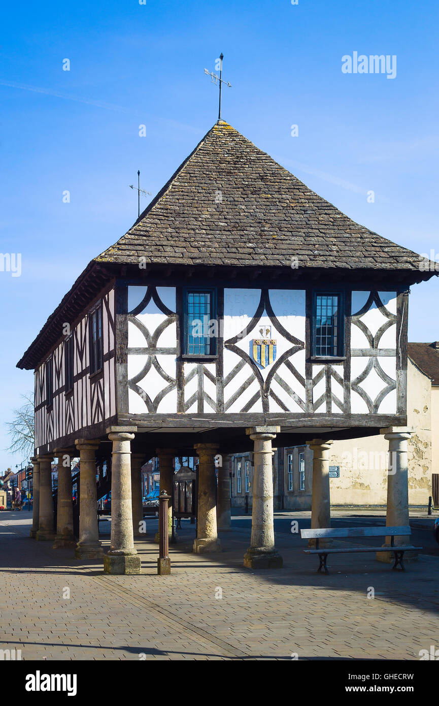 Market Hall in Royal Wootton Bassett Wiltshire UK Stock Photo