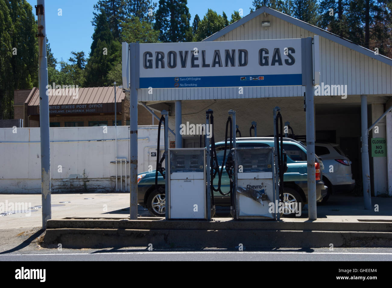 Old Gas Stations In Northern California: Gas California Stock Photos & Gas California Stock Images