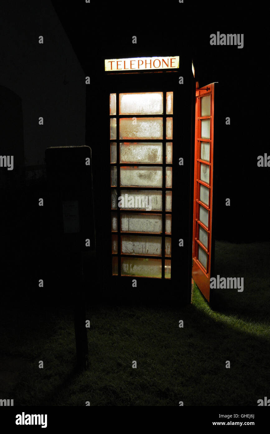 Telephone Box - Stock Image