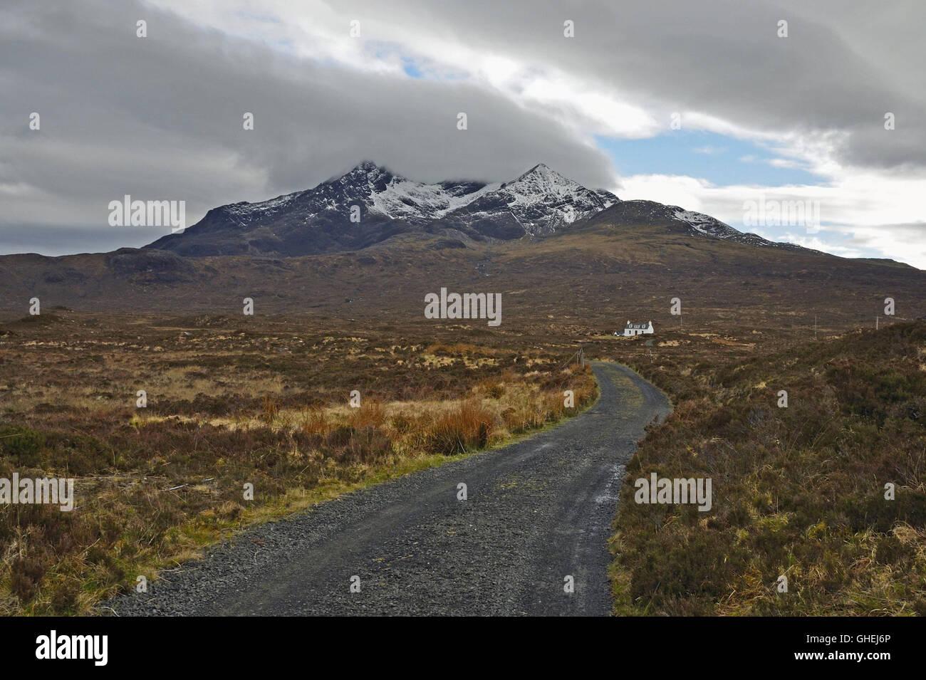 Black Cuillin, Skye - Stock Image