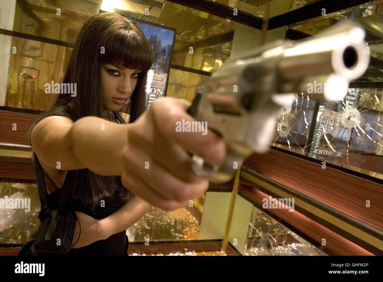 SMOKIN' ACES Smokin' Aces USA/GB/France 2007 Smokin' Aces / ALICIA KEYS as Georgia Sykes Regie: Joe - Stock Image