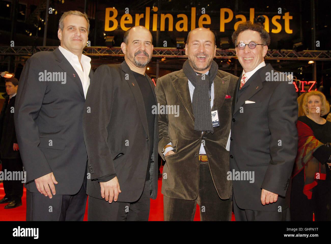 300 300 USA 2006 Zack Snyder 300 / Berlinale 2007 / Weltpremiere des Films 300 / BERNIE GOLDMANN, JEFFREY SILBER, - Stock Image