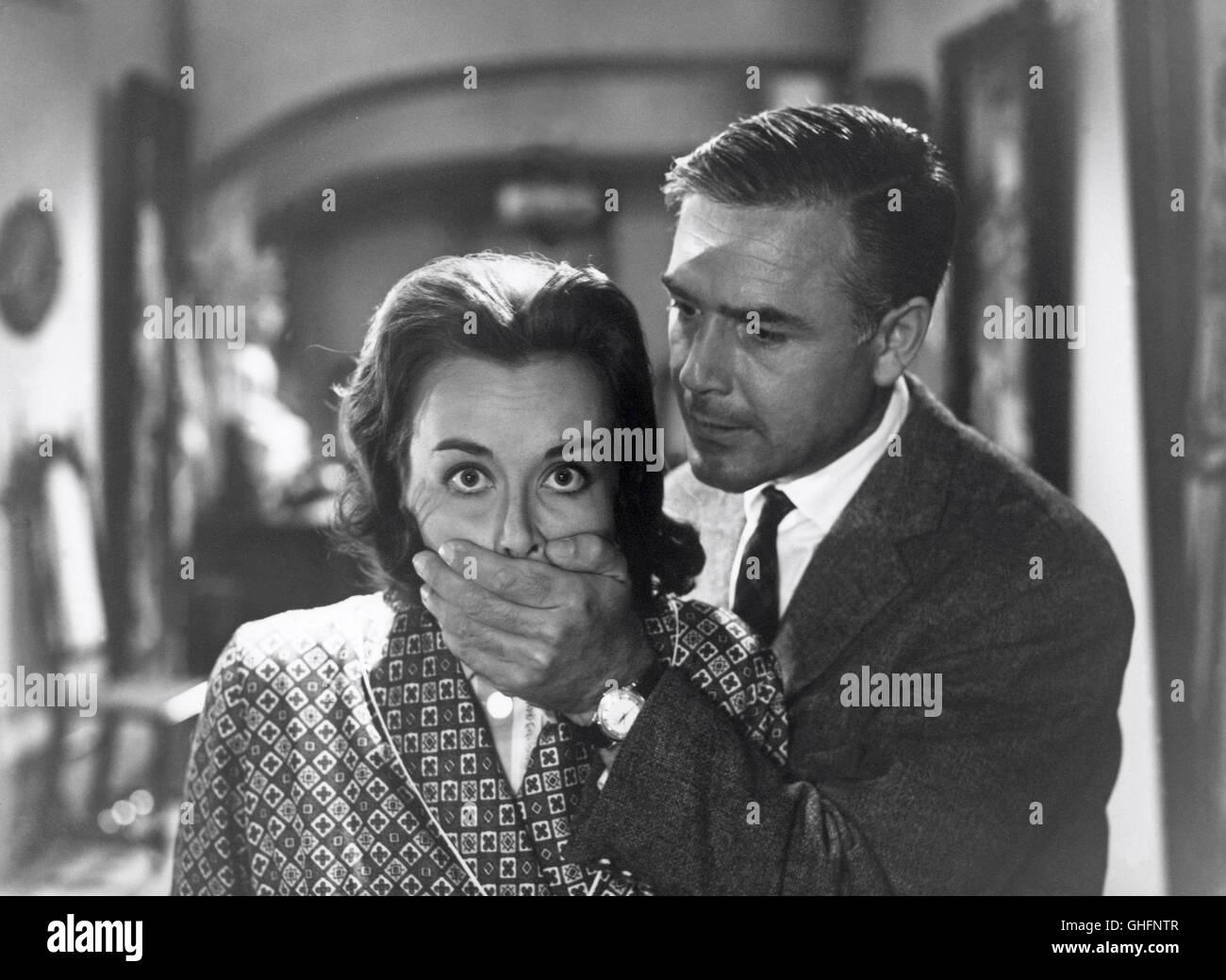 Brigitte Grothum original signiertes schönes Foto EDGAR WALLACE