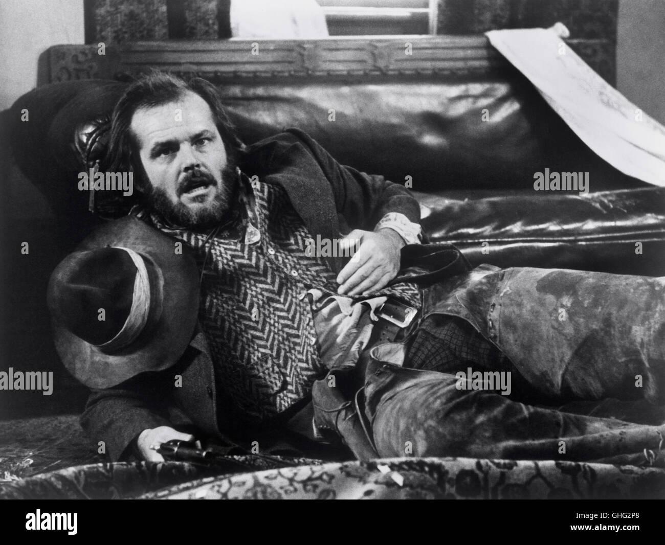 Duell am Missouri - The Missouri Breaks USA 1976 / Arthur Penn JACK NICHOLSON (Tom Logan) Regie: Arthur Penn aka. - Stock Image