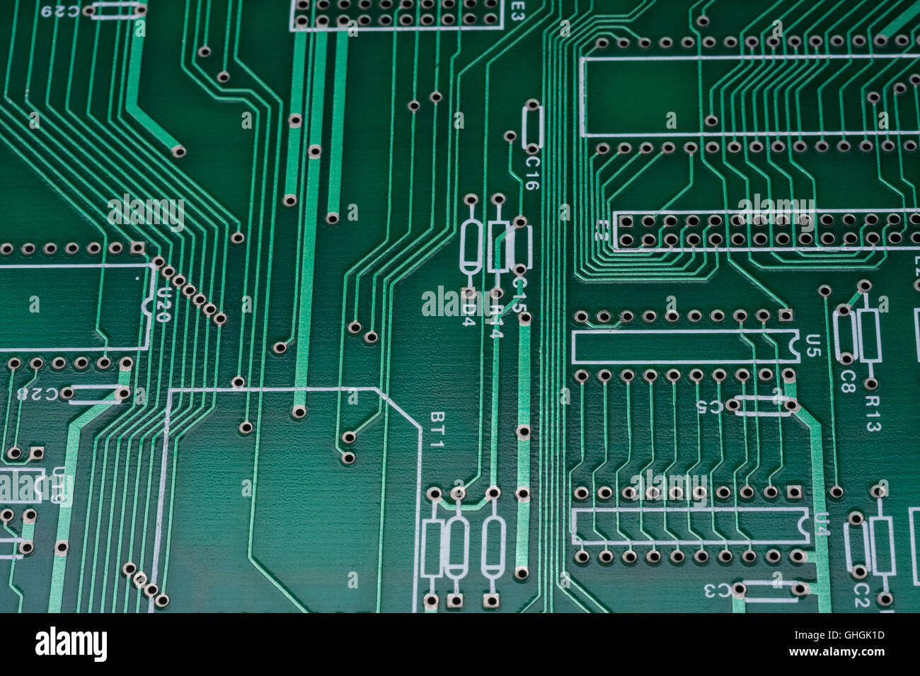 Printed Circuit Board Components Stock Photos & Printed Circuit ...