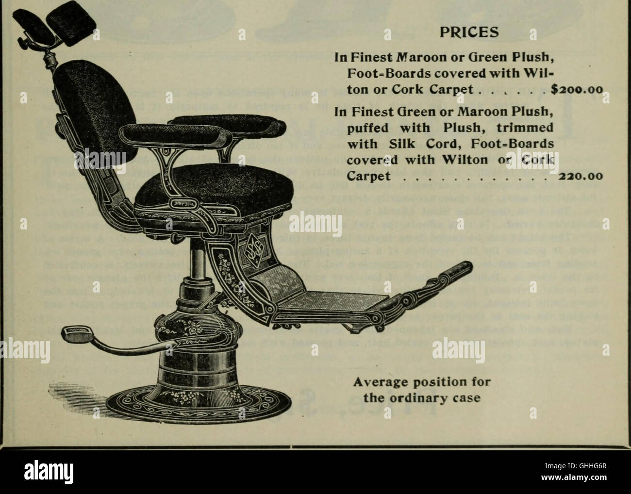 Chair;The Dental - Stock Image
