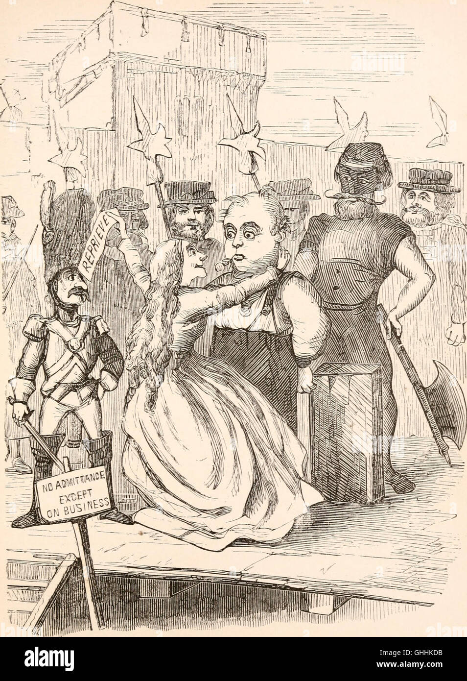 The rose and the ring; or, The history of Prince Giglio and Prince Bulbo. A fire-side pantomime for great and small - Stock Image