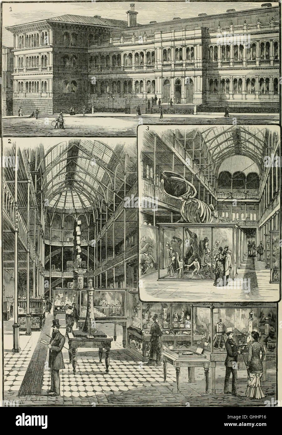 Cassell's Old and new Edinburgh- its history, its people, and its places (1881) Stock Photo