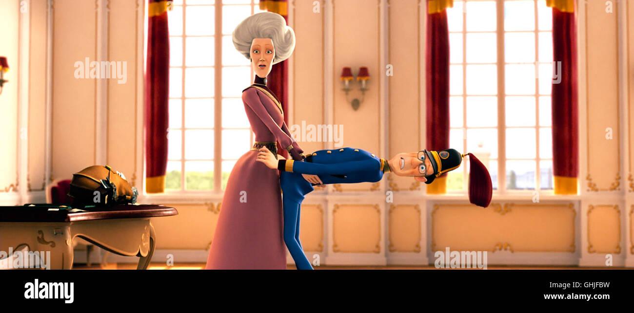 Lissi und der wilde Kaiser / Es ist nicht das, wonach es aussieht! Die Kaiserin Mutter und der Feldmarschall Regie: - Stock Image