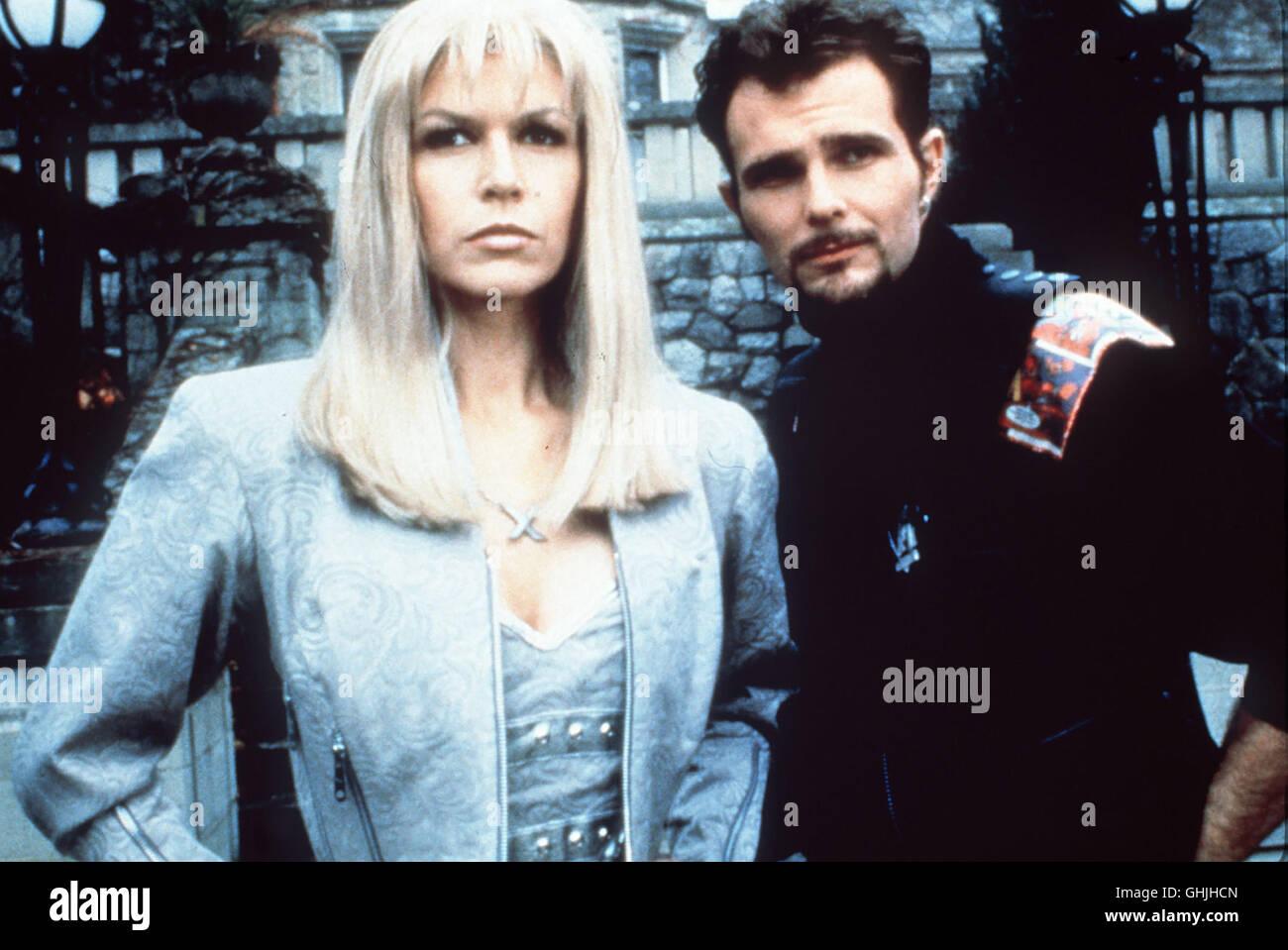 Szene mit Emma 'White Queen' Frost (FINOLA HUGHES) und Sean 'Banshee' Cassidy (JEREMY RATCHFORD). - Stock Image