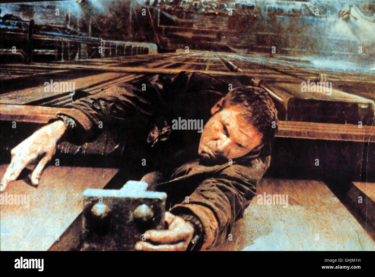 Los Angeles, 2019: Rick Deckard (HARRISON FORD) ist ein 'Blade Runner', ein Polizist, der untergetauchte - Stock Image