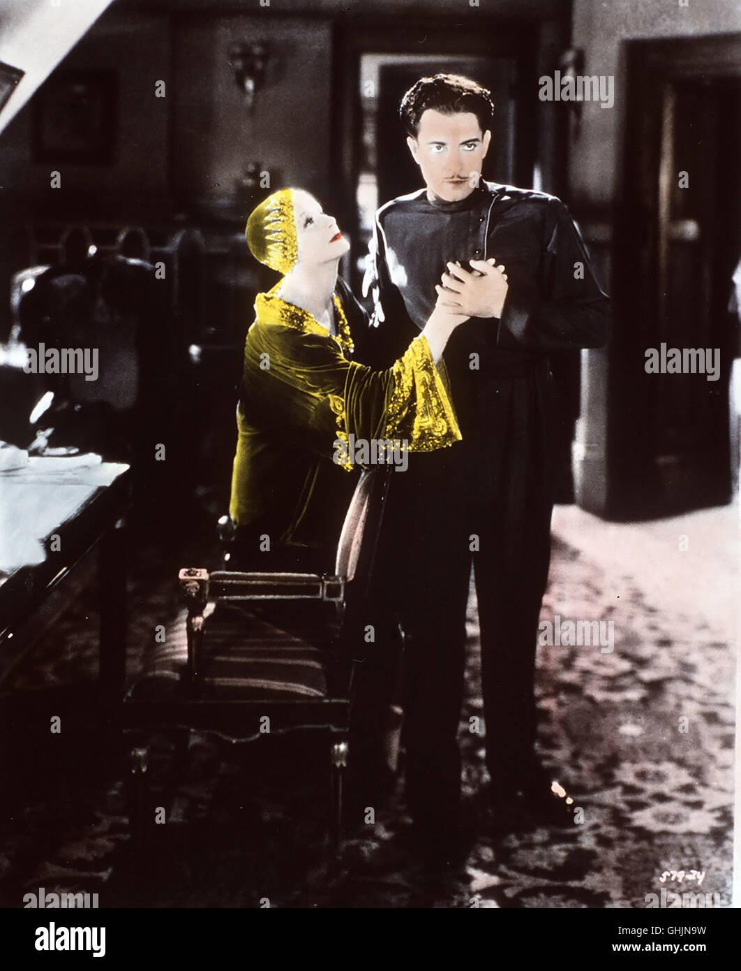 Mata Hari USA 1931 Die berühmte Geschichte der japanisch-niederländischen Offiziersgattin, die während - Stock Image