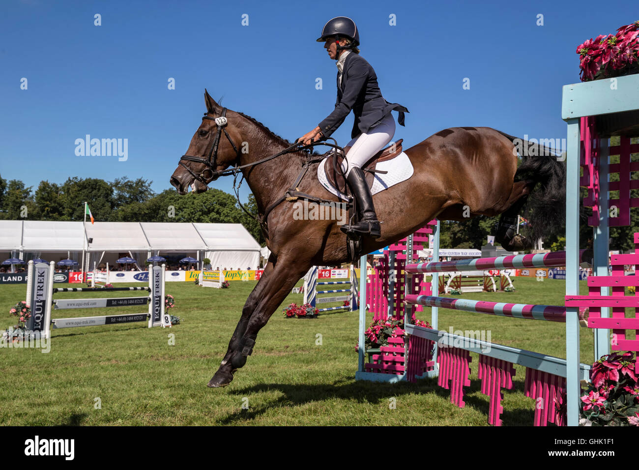 Katie Barber on Woodfield Ria - Stock Image
