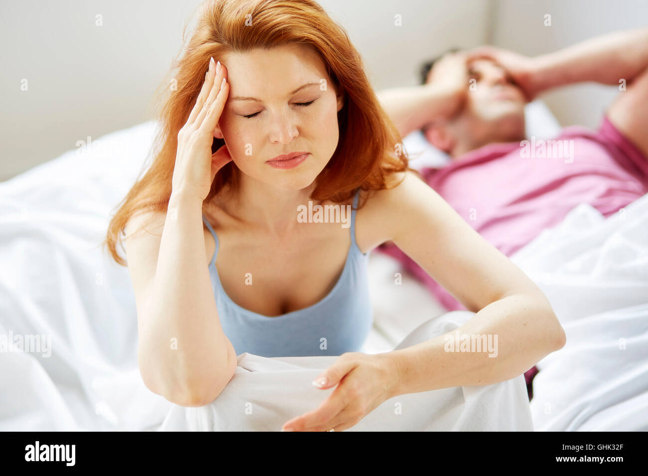 Couple arguing - Stock Image