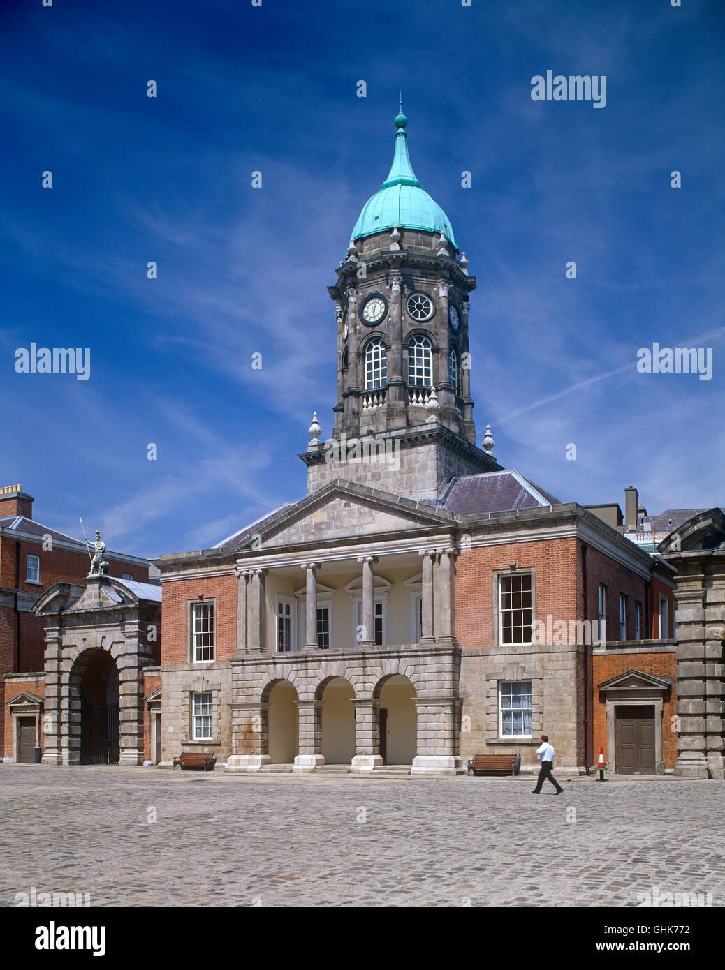 Dublin Castle, County Dublin, Ireland - Stock Image