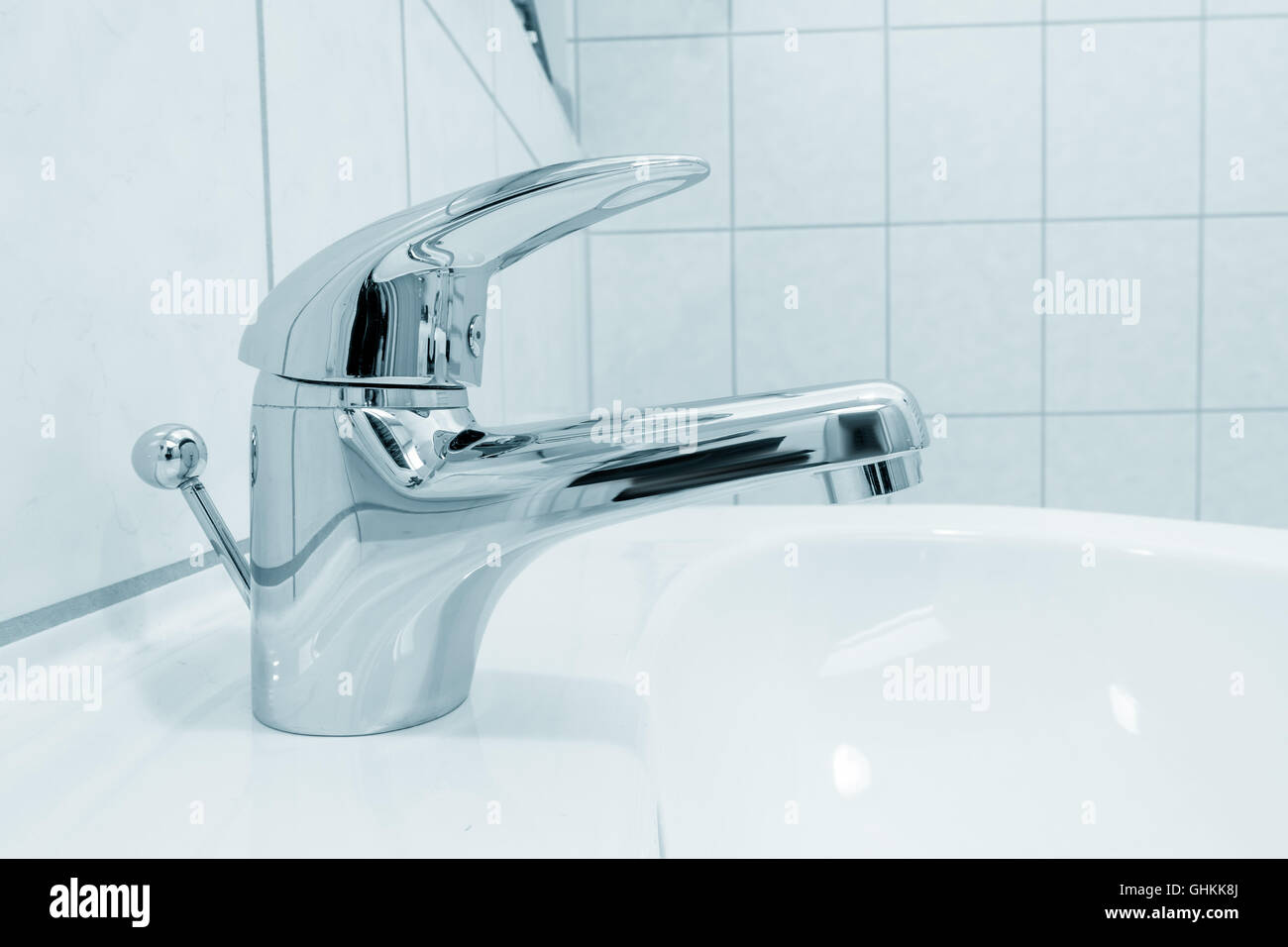 water tap - Stock Image