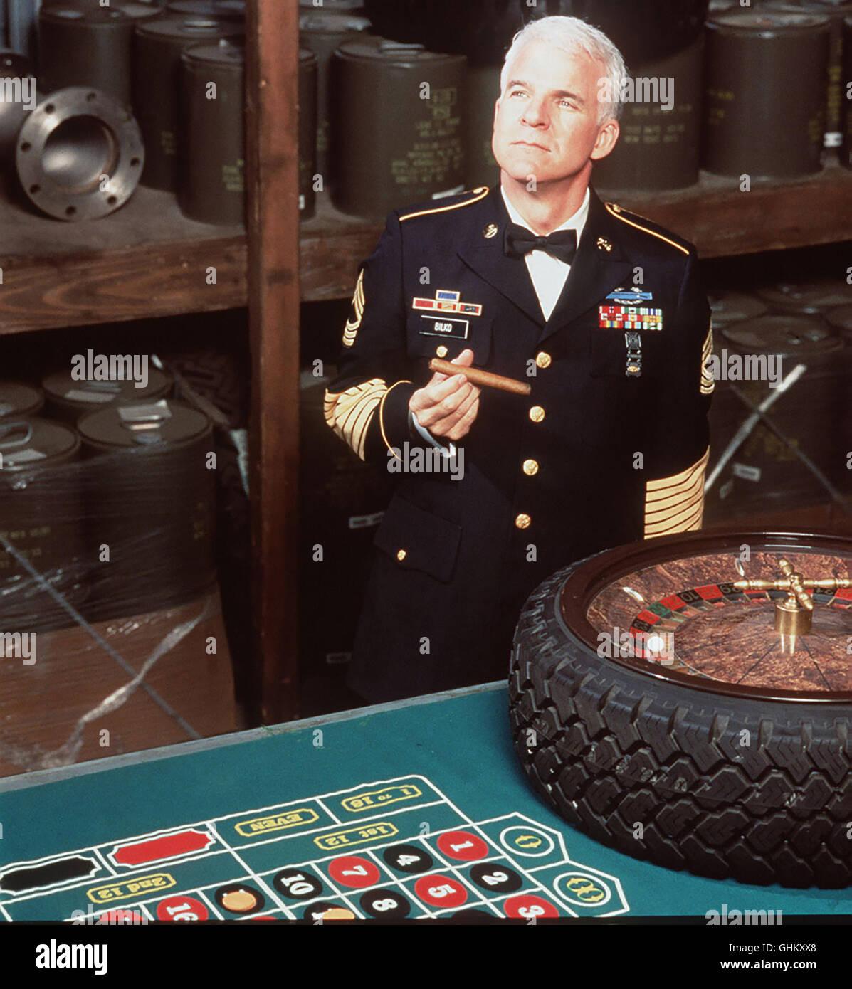 Der überaus geschäfts-tüchtige Sgt. Bilko (STEVE MARTIN) hat aus einem US-Militärstützpunkt - Stock Image