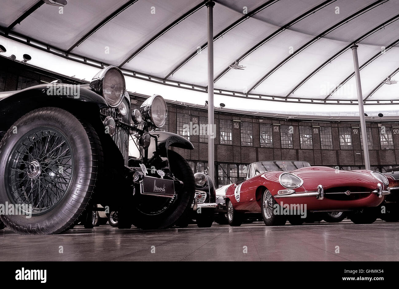 The Classic Remise classic car storage and sales centre in ...