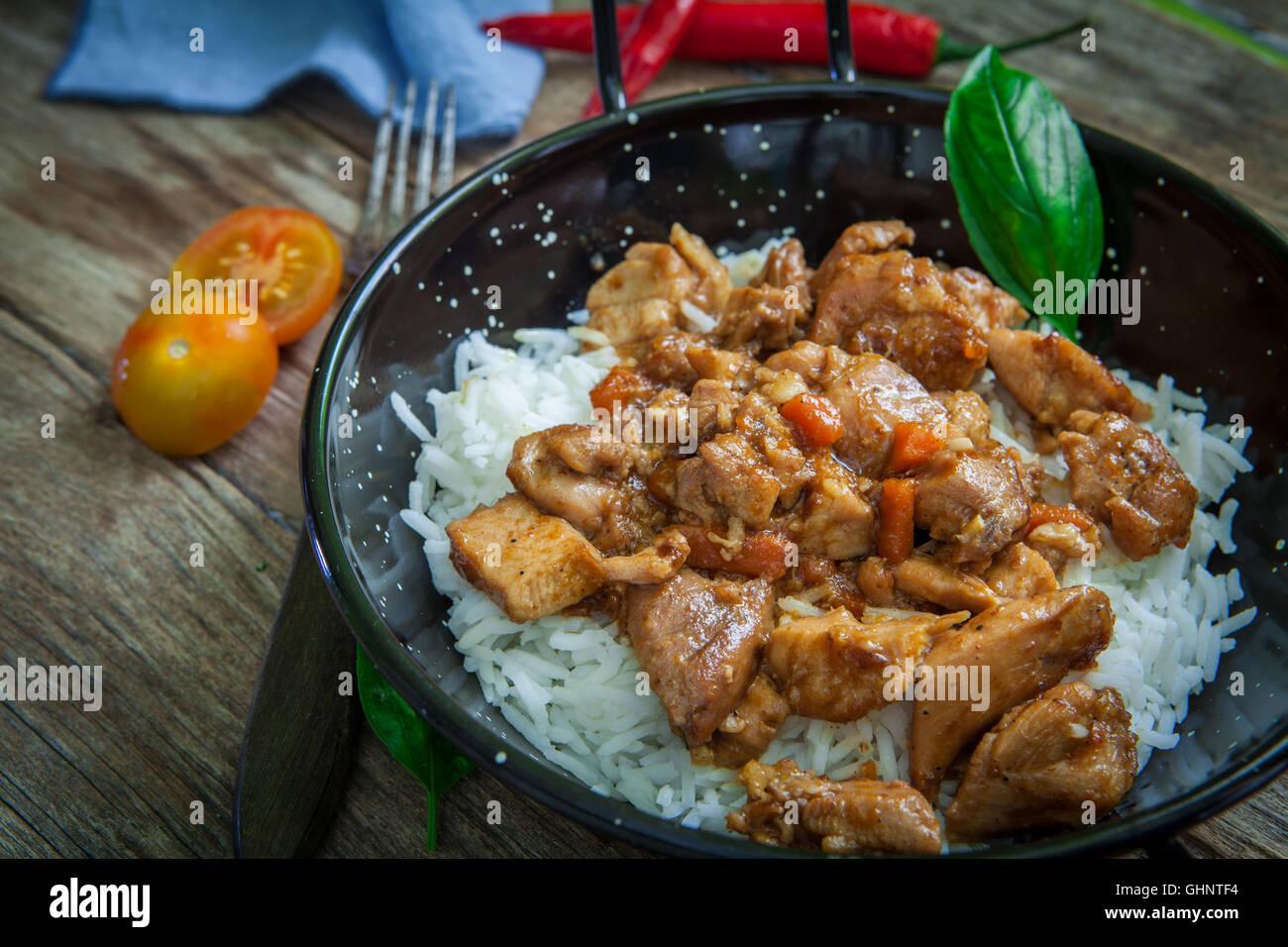 how to cook basmati rice pot