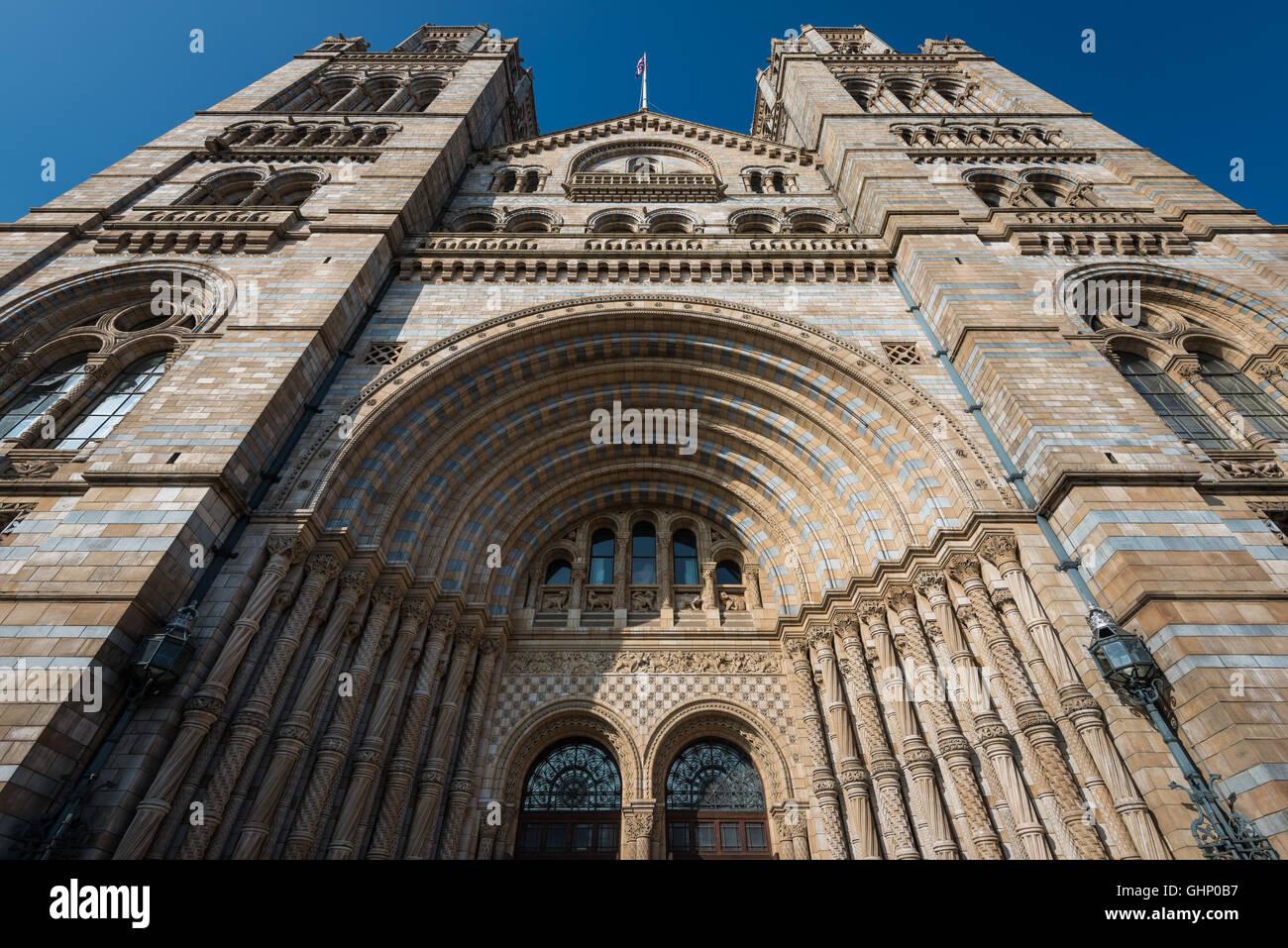 Natural History Museum, London, United Kingdom - Stock Image
