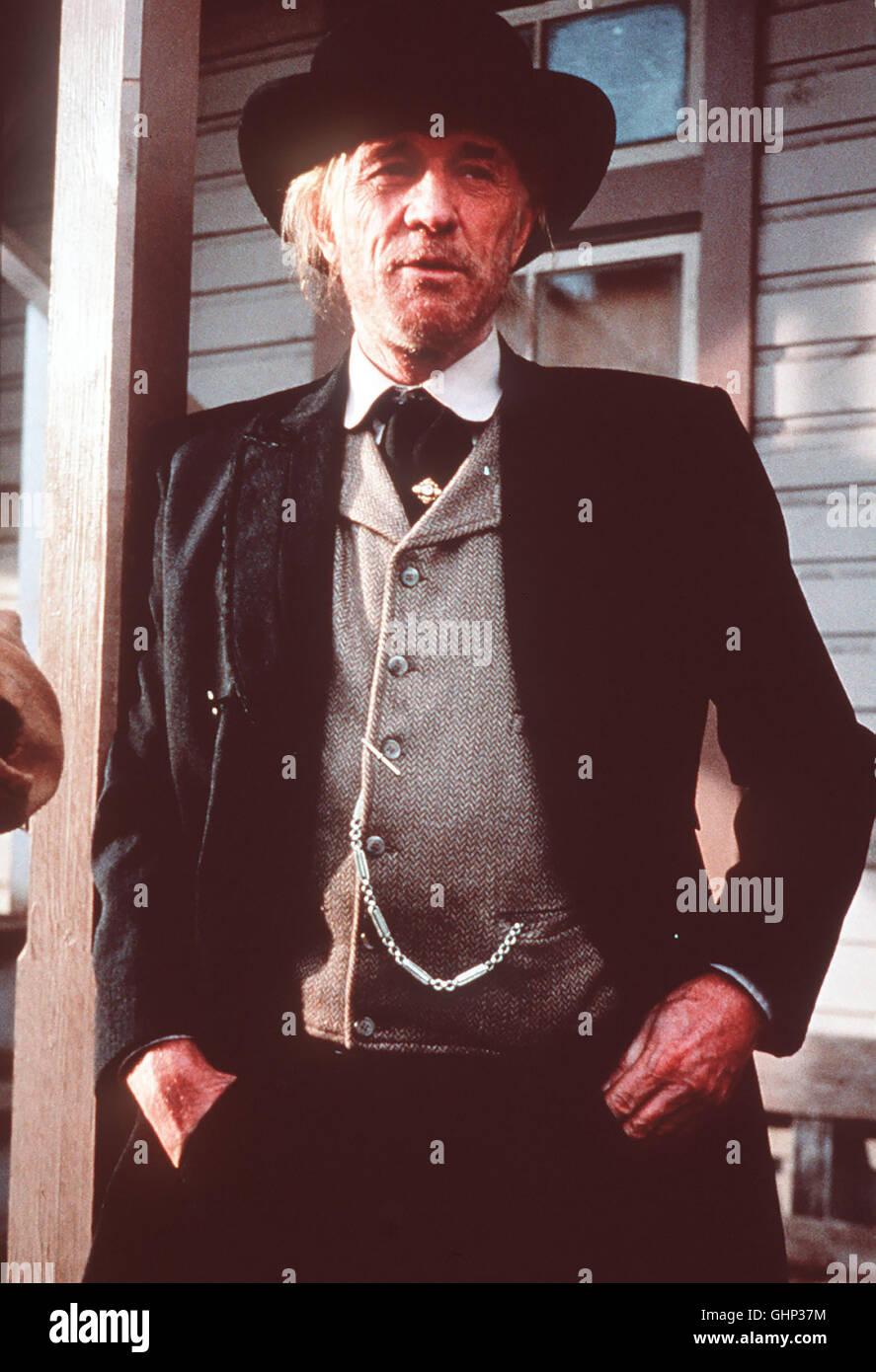 früher war Bill Munny ein eiskalter Revolverheld. Dann wurde er seßhaft - doch nun ist er wieder unterwegs. Mit Stock Photo