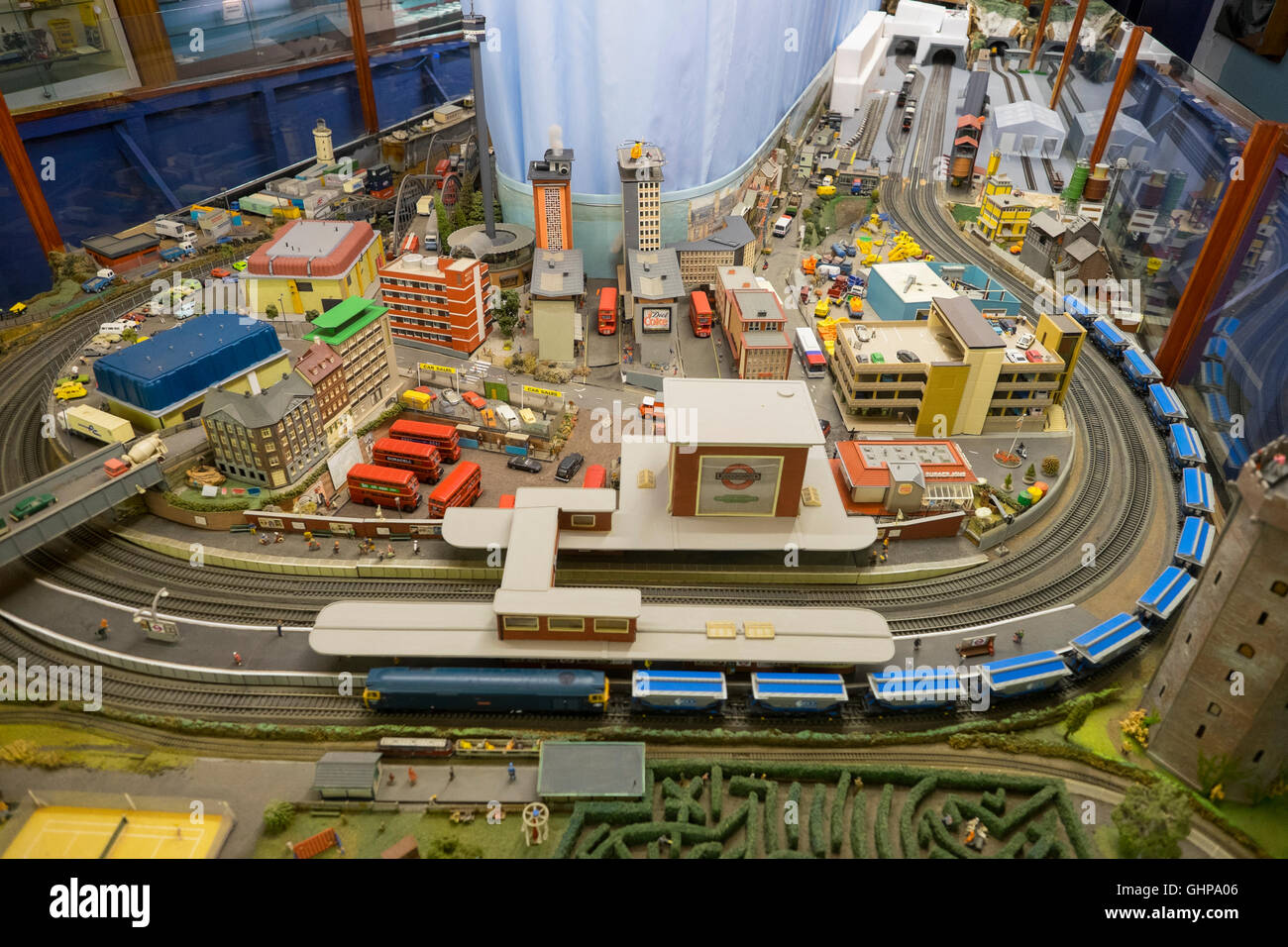 World of Model Railways train layout, Mevagissey, Cornwall